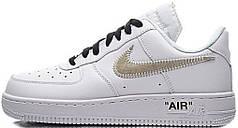 Мужские кроссовки OFF-WHITE x Nike Air Force 1 Low White