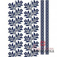"""Схема для вышиванки на водорастворимом флизелине """"Квітковий еліксир"""" СФФ-05"""