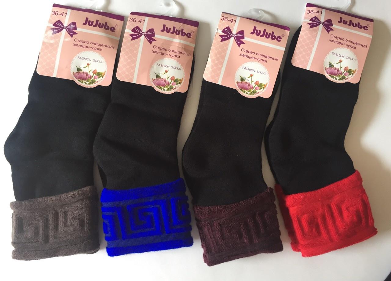 МАхровые женские носки Версаче 36-41 Кролик   JuJuBe