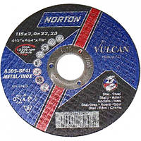 Norton Круг відрізний 41 115х1,0х22 метал Код:01406   Артикул:66252925431