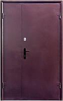 """Входные металлические двери (двустворчатый дверной блок) Форт-Нокс """"Форт"""""""