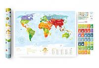 Cкретч постер Travel Maps KIDS Sights