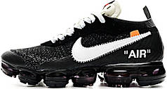 Мужские кроссовки OFF-WHITE x Nike Air VaporMax Black