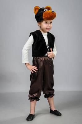 Детский карнавальный костюм Медведь атлас (30-36) - цена 289 грн ... 7e633f4a9d924