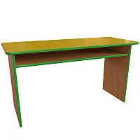 Мебель для детского сада. Стол детский двухместный с полкой