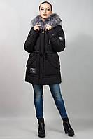Зимняя молодежная женская куртка-парка (42-64)