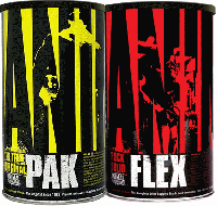 Universal Nutrition Animal Pak 44pack +Animal Flex 44Pack