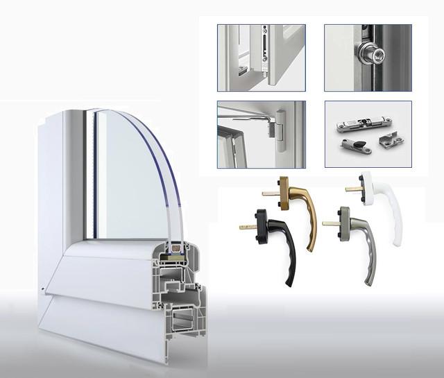 Фурнітура для металопластикових вікон та балконних дверей