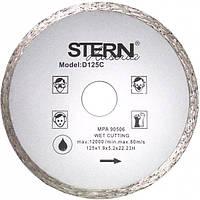Stern Круг алмазний відрізний 125х22 плитка Код:07274   Артикул:D125C