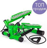 Степпер Hop-Sport HS-30S green для дома и спортзала  , Львов