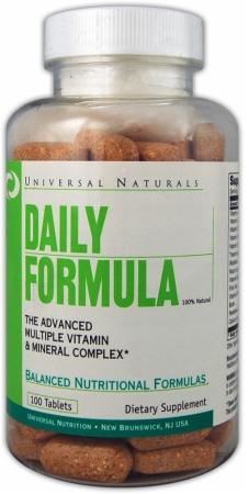 Vitamin, Universal Nutrition, Daily Formula, 100tab