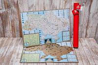 Скретч карта My Maps Native edition в наборе для любимого человека In Love