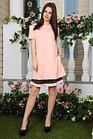 Платье трапеция в расцветках  17926