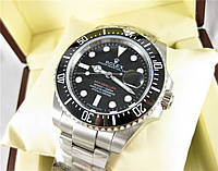 Часы Rolex Sea-Dweller 40mm Silver/Black (Механика). Класс: AAA.