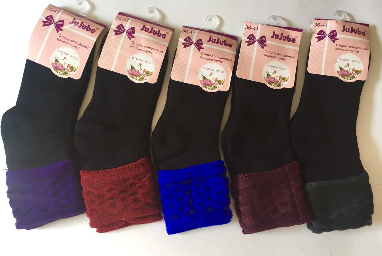 Махровые женские носки Кролик 36-41   JuJuBe
