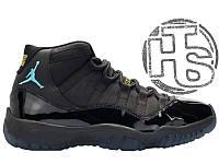 Мужские кроссовки Air Jordan 11 XI Gamma Blue 378037-006