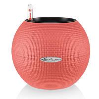 Умный вазон Puro Color 20 розовый( фламинго) матовый