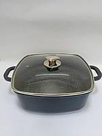 Каструля Peterhof PH-15830-28 6,3 л. мармур, фото 1