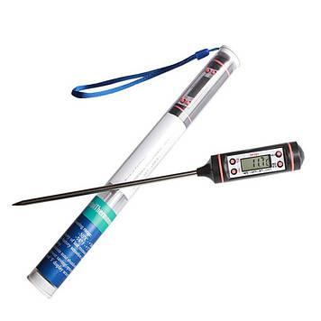 Термометр кухонный термометр для барбекю BBQ termometr, цвет черный