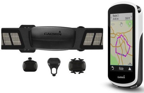 Велонавігатор Garmin Edge 1030 Bundle