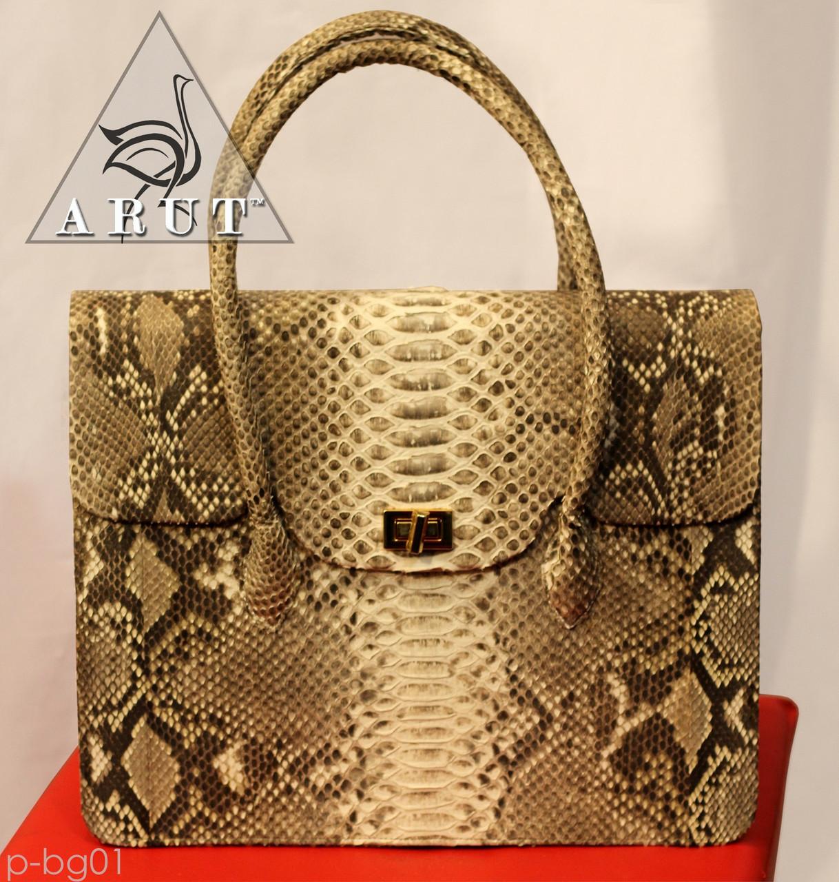 1756bd226d7e Женская сумка из натурной кожи питона - ARUT Кожаная обувь и галантерея в  Николаеве