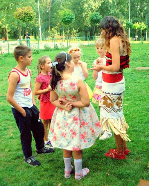 Детский праздник с Принцессой Моана! 1