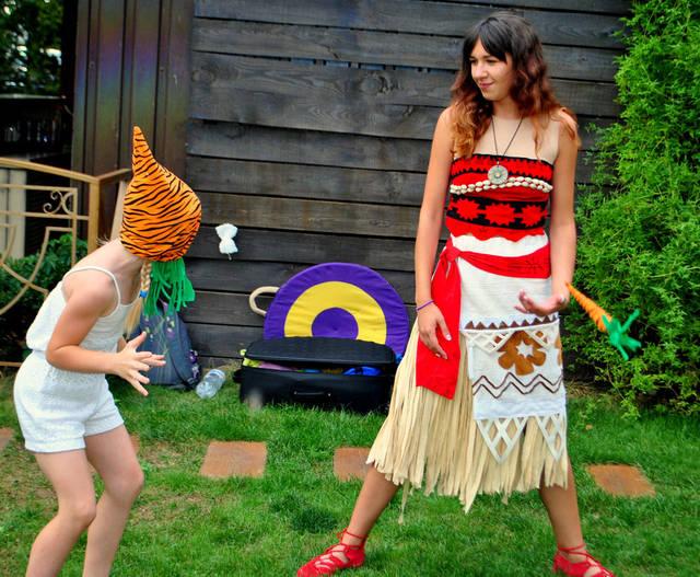 Детский праздник с Принцессой Моана! 4