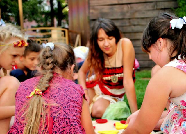 Детский праздник с Принцессой Моана! 8