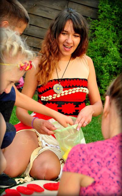 Детский праздник с Принцессой Моана! 9