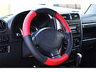 Оплетка на руль на Део Ланос из натуральной кожи , фото 2