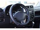 Оплетка на руль на Део Ланос из натуральной кожи , фото 8