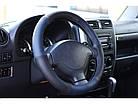 Оплетка на руль на Део Ланос из натуральной кожи , фото 9