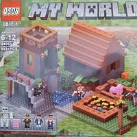 Детский конструктор Майнкрафт 44050