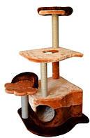 Домик  когтеточка  для котов Парадиз