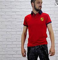 """Мужская футболка """"Porshe"""" в расцветках 18601"""
