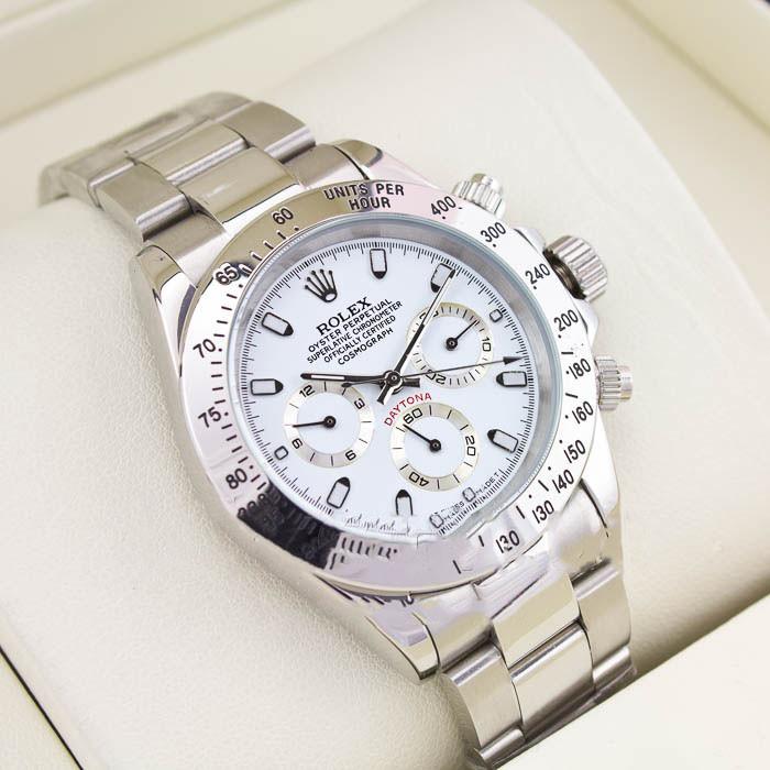 Механические часы Rolex Daytona Silver