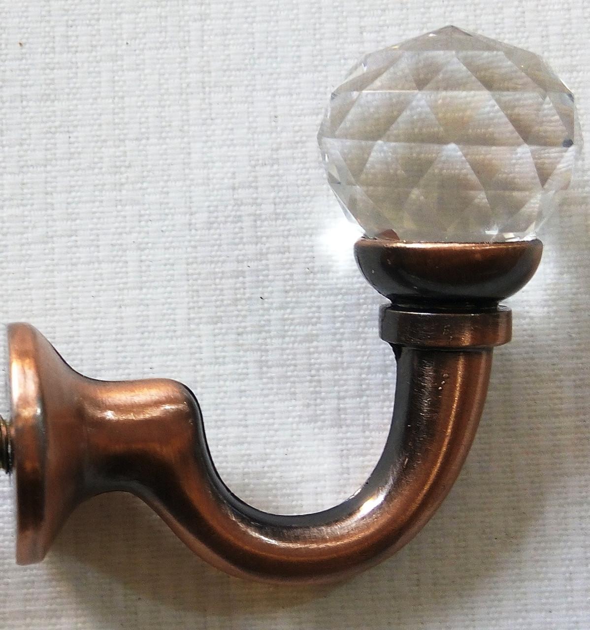 Металл с кристаллом, медь античная