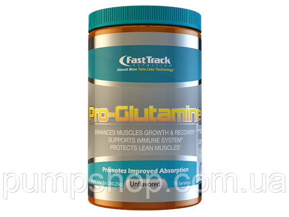 Глютамин FastTrack Nutrition Pro-Glutamine 380 г ( США )