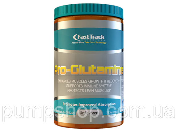 Глютамин FastTrack Nutrition Pro-Glutamine 380 г ( США ), фото 2