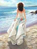 "Картина раскраска по номерам ""Свадьба в середине лета"" набор для рисования"