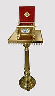 Подставка латунная для ковчега (40 на 40см)