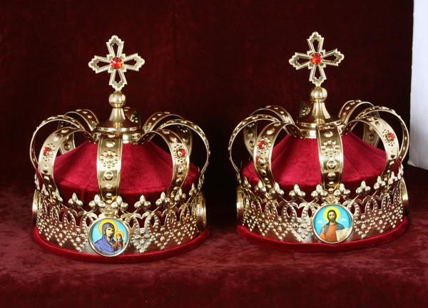 Венчальные короны православные (пара)