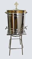 Бак для освящения воды на 75 литров с подставкой