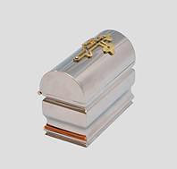 Крестильный ящик никелированный