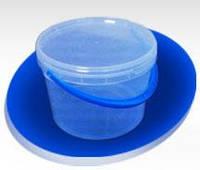 Ведро пластиковое пищевое с крышкой 3300мл
