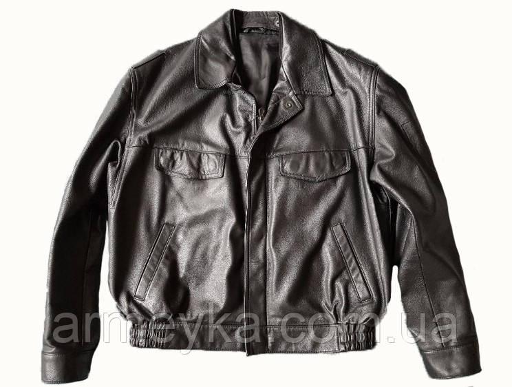 Кожаная полицейская куртка. Германия, оригинал.