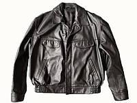 Кожаная полицейская куртка. Германия, оригинал., фото 1