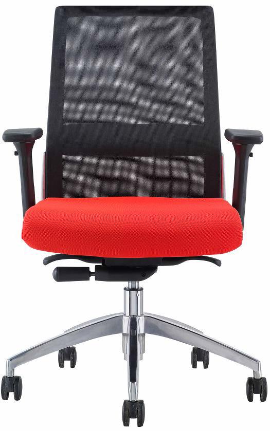 Комп'ютерне крісло з дихаючої спинкою-сіткою Enrandnepr ЭНДИКО чорний