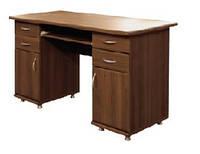 Стол письменный 2 тумбы (Мебель-Сервис)