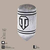 Декоративная подушка в виде танкового снаряда